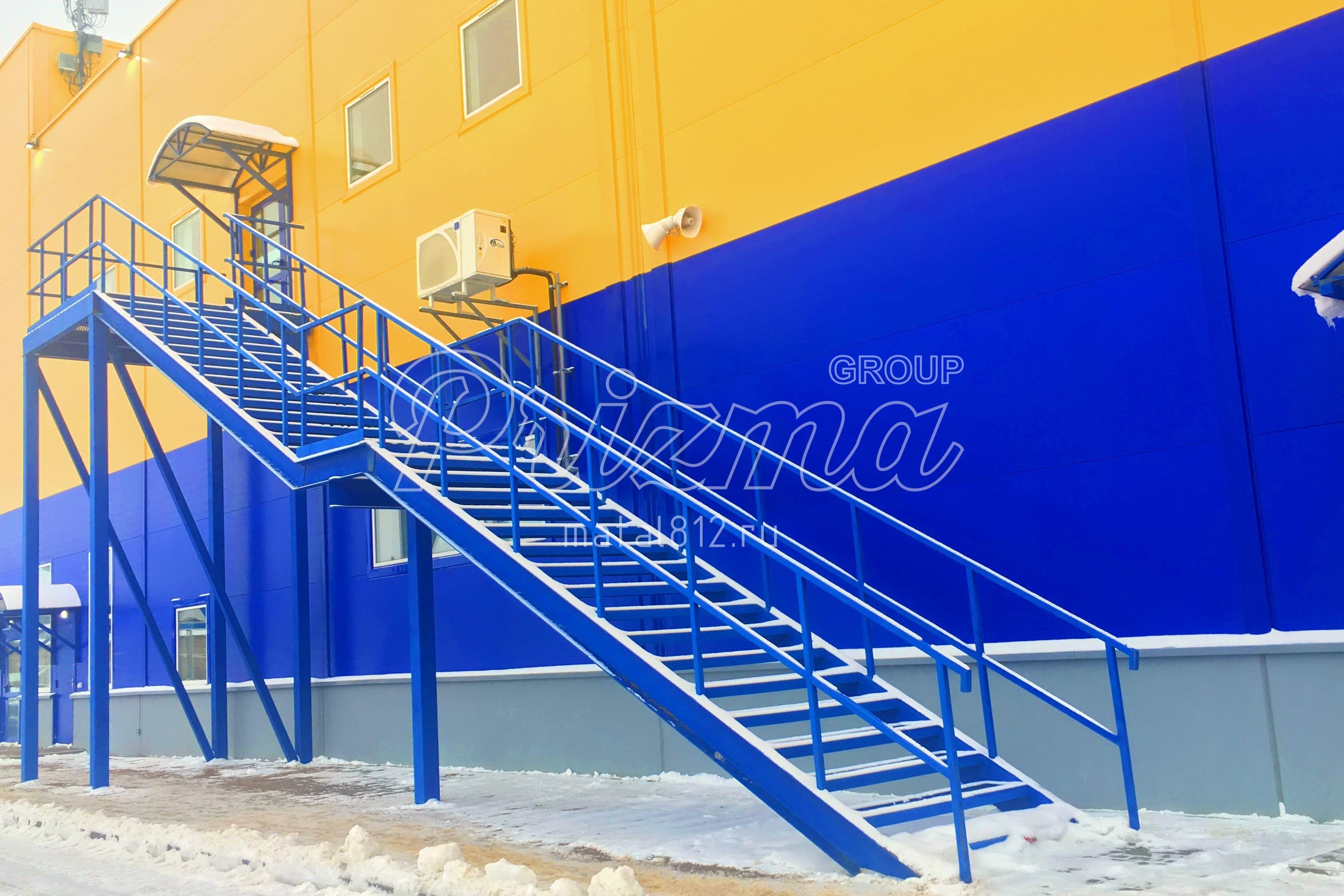Лестницы маршевые П2