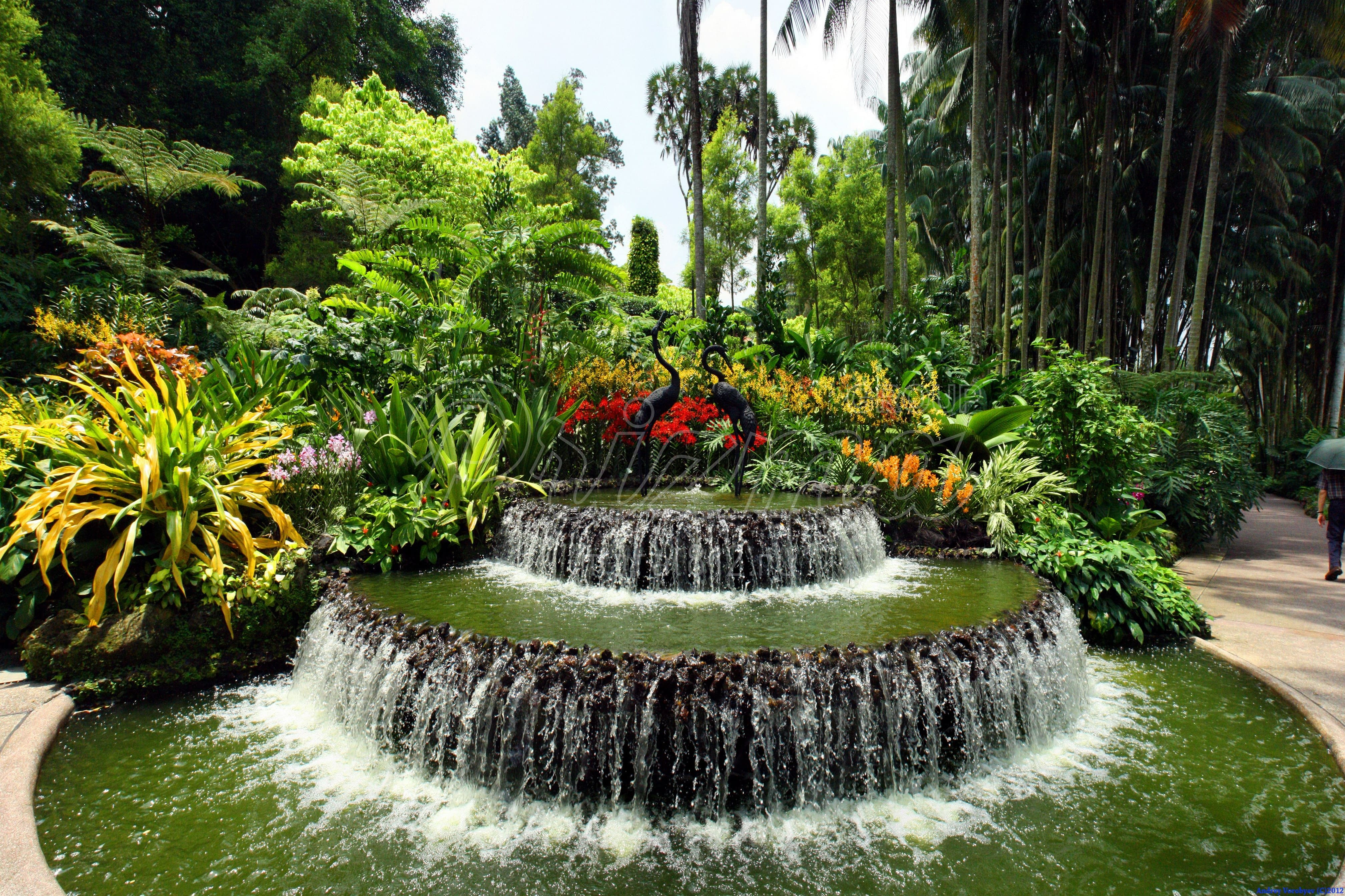 Цена на фонтаны, водопады, каскады