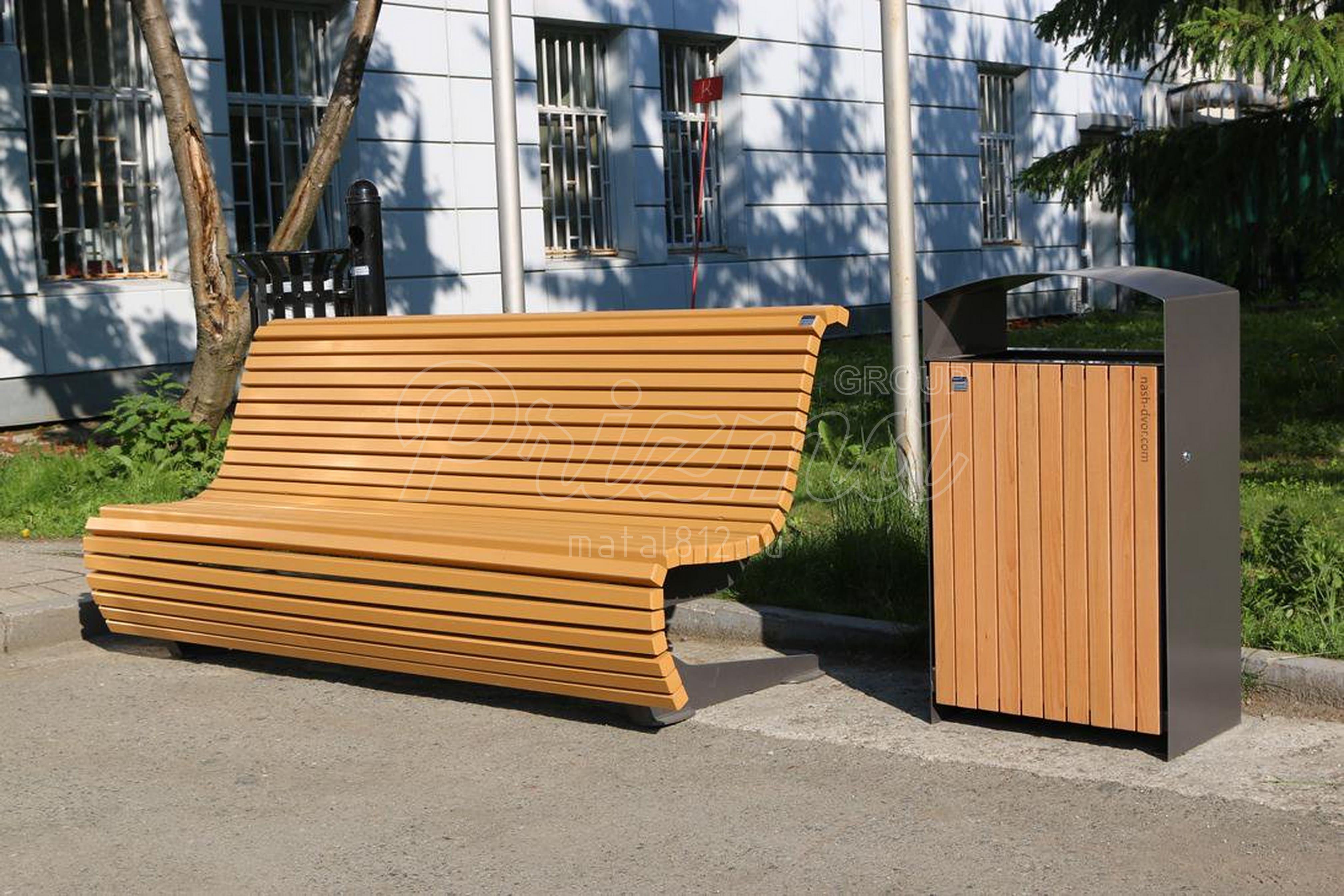 Проектирование садовой и парковой мебели