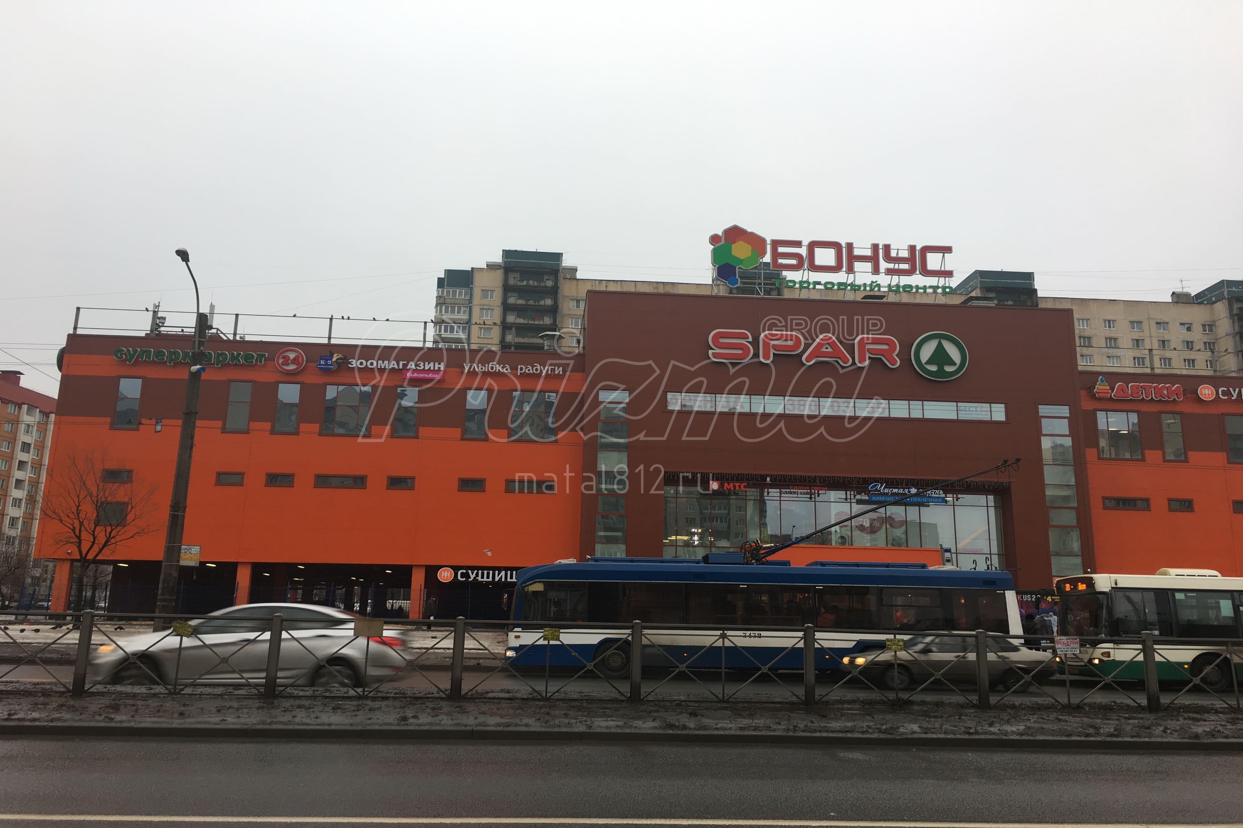 Монтаж торговых центров