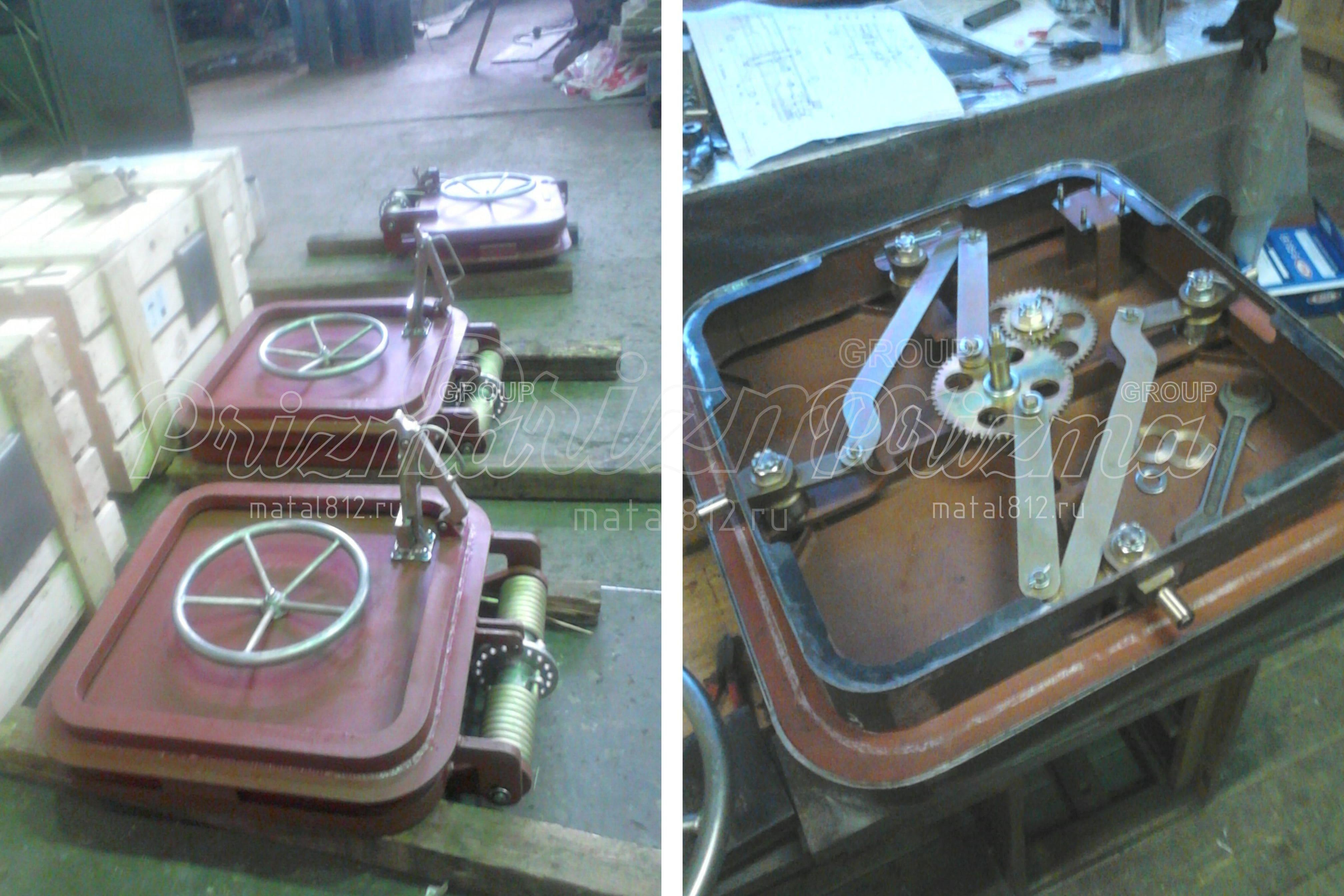 Изготовление люков металлических