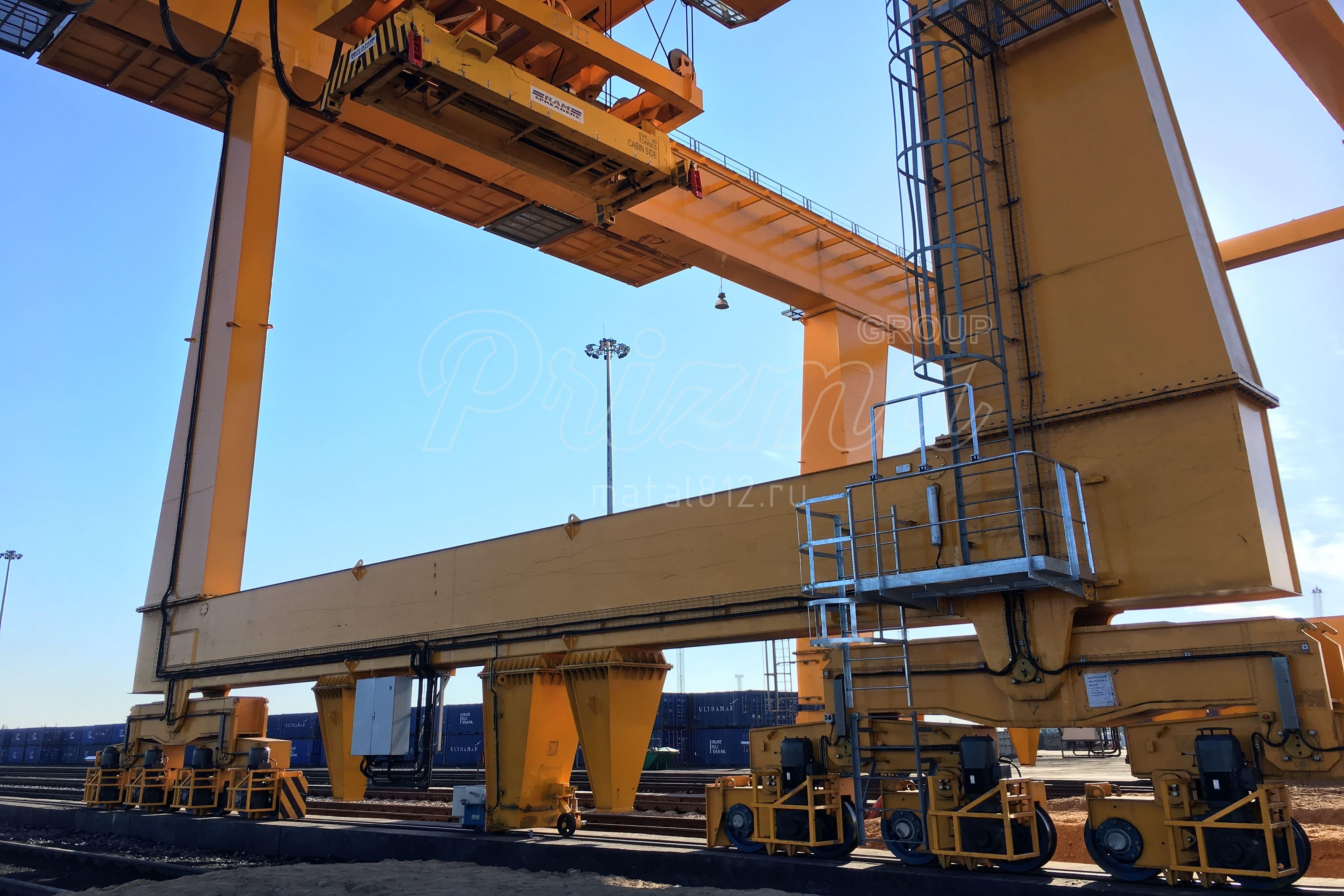 Изготовление кранов для портов и терминалов