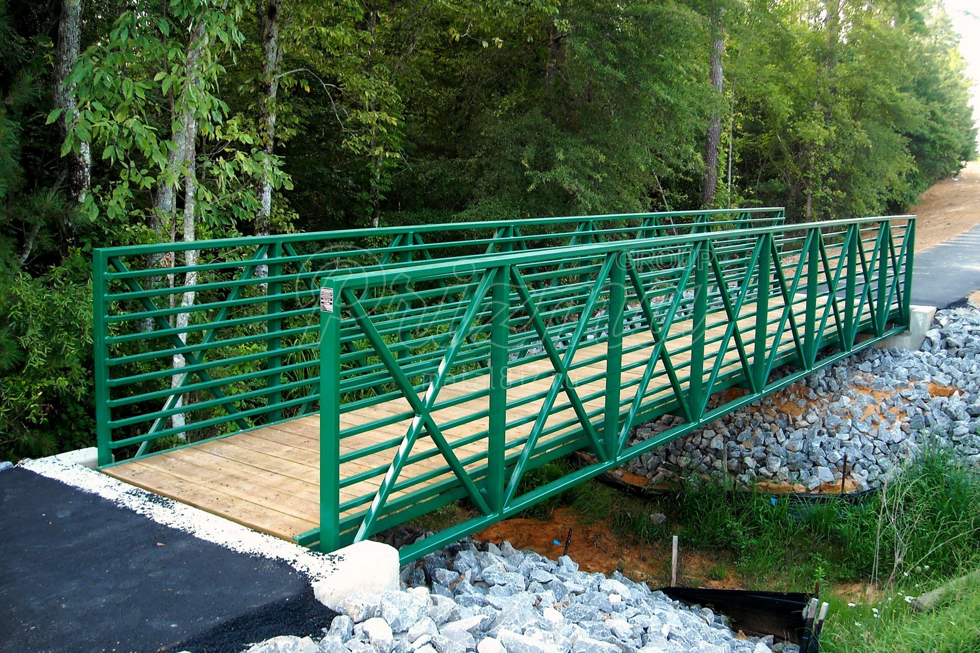 Изготовление мостиков и переправ