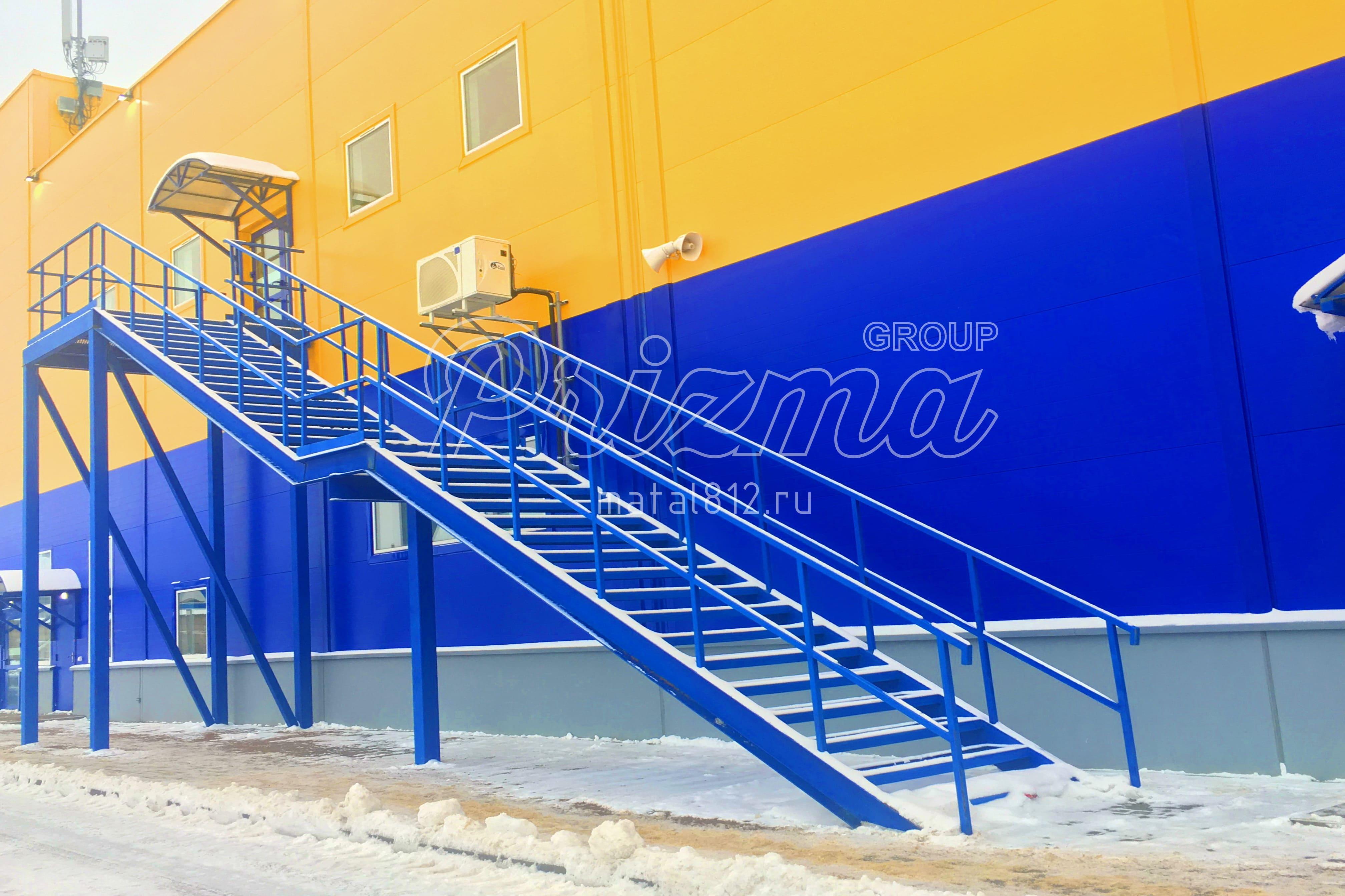 Цены на лестницы