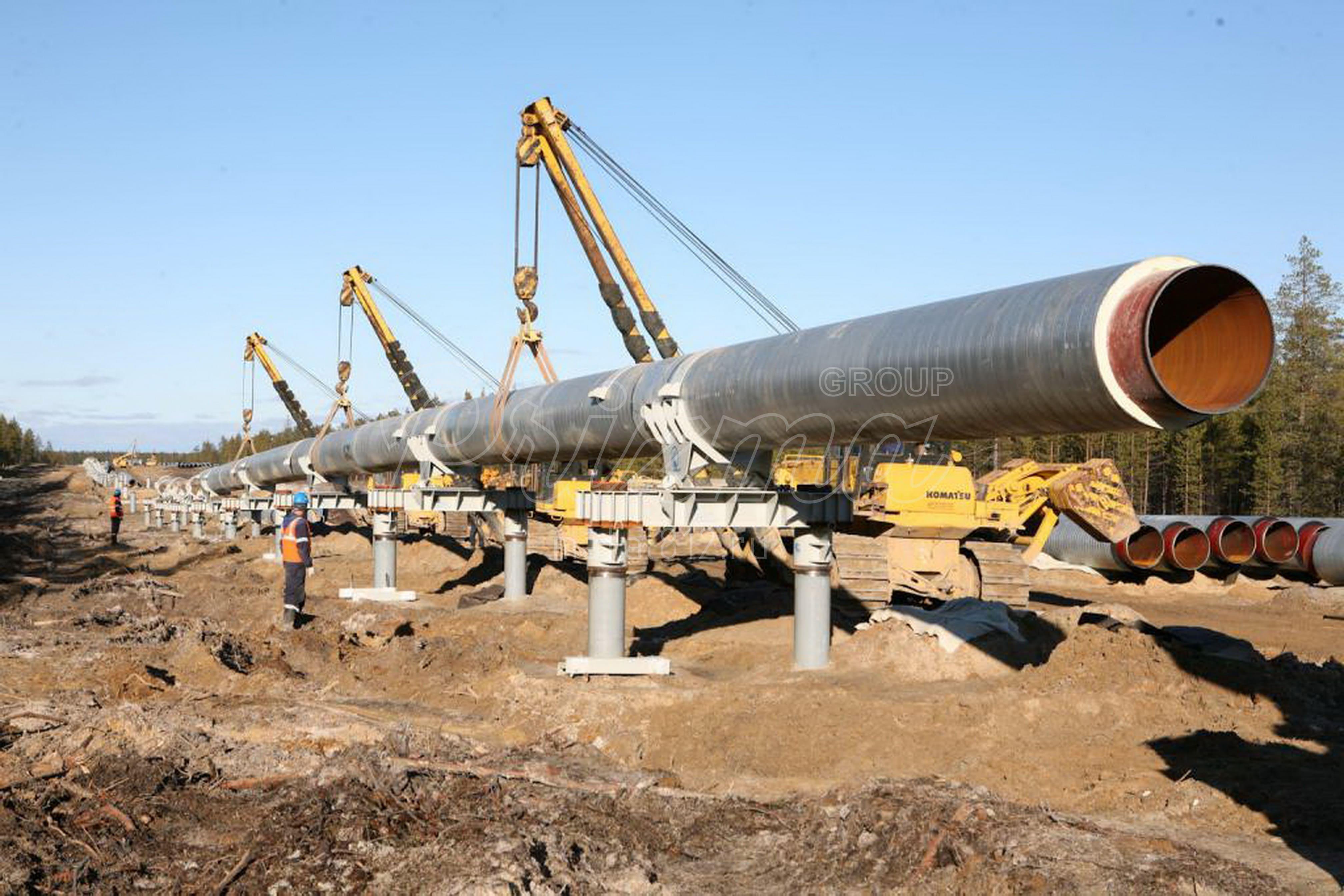 Проектирование опор для трубопроводов