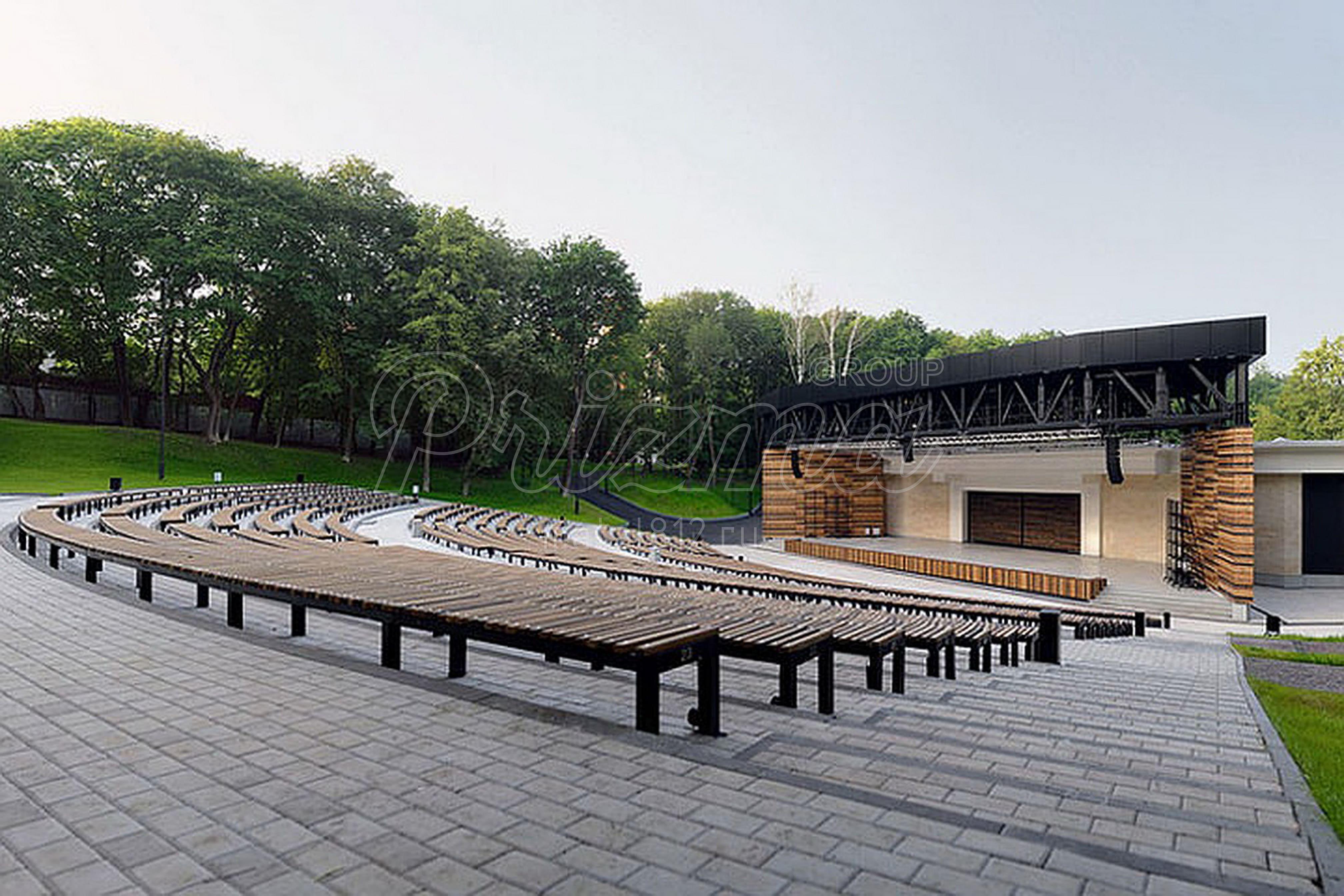 конструкция сцены театра