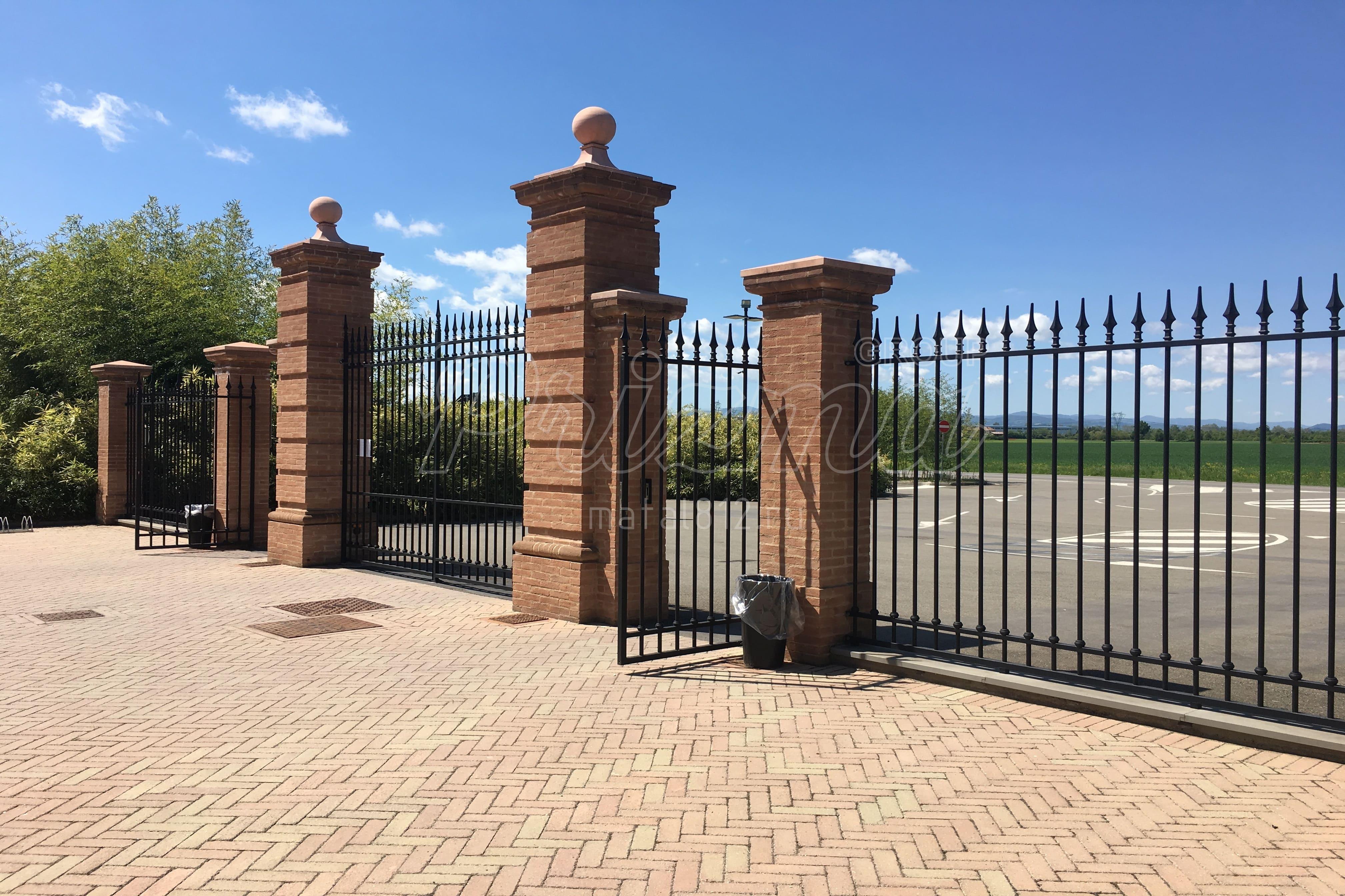 Проектирование ворот распашных стандарт