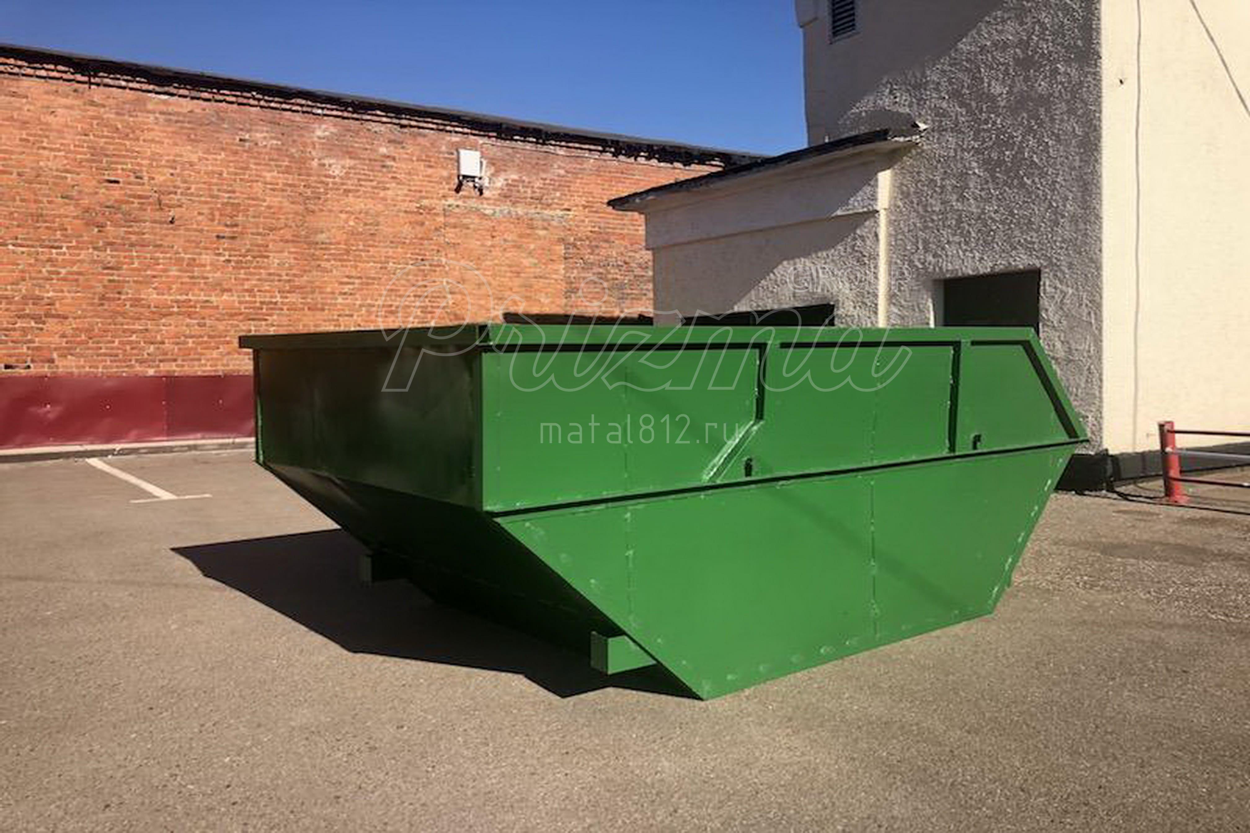 заказать мусорный контейнер