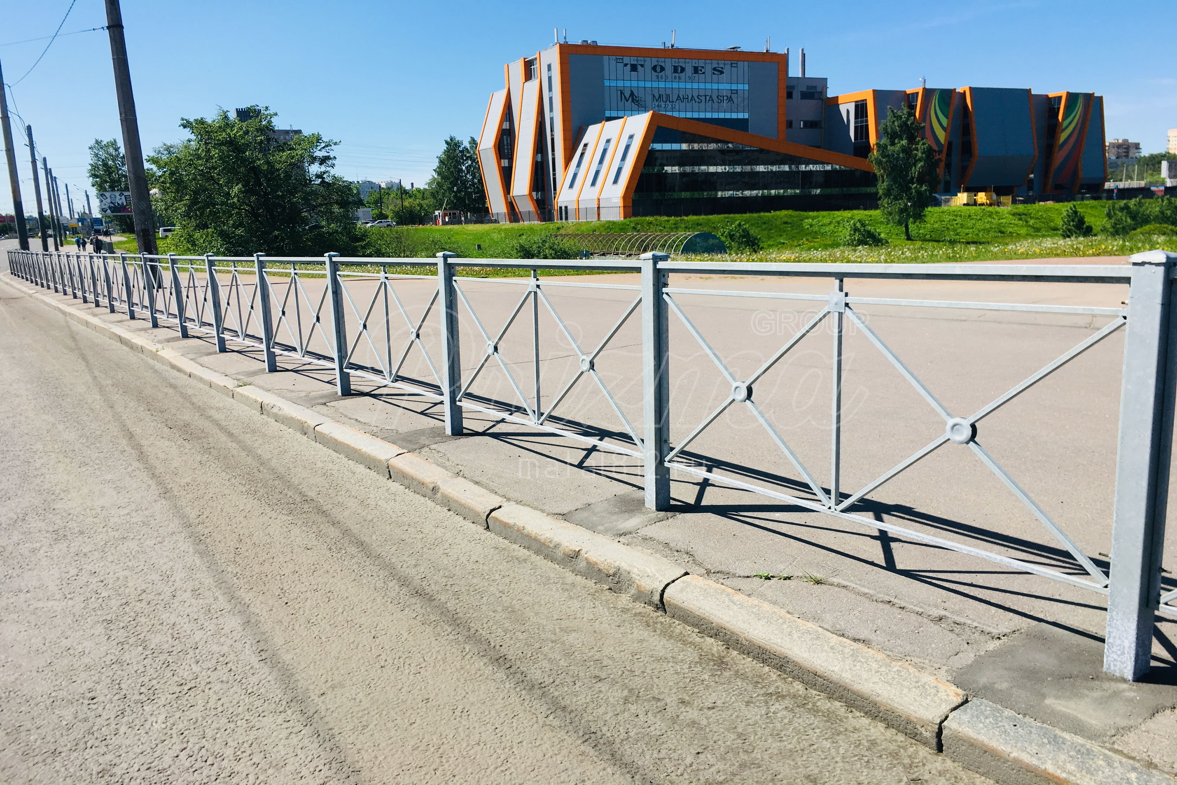 Проектирование пешеходных ограждений