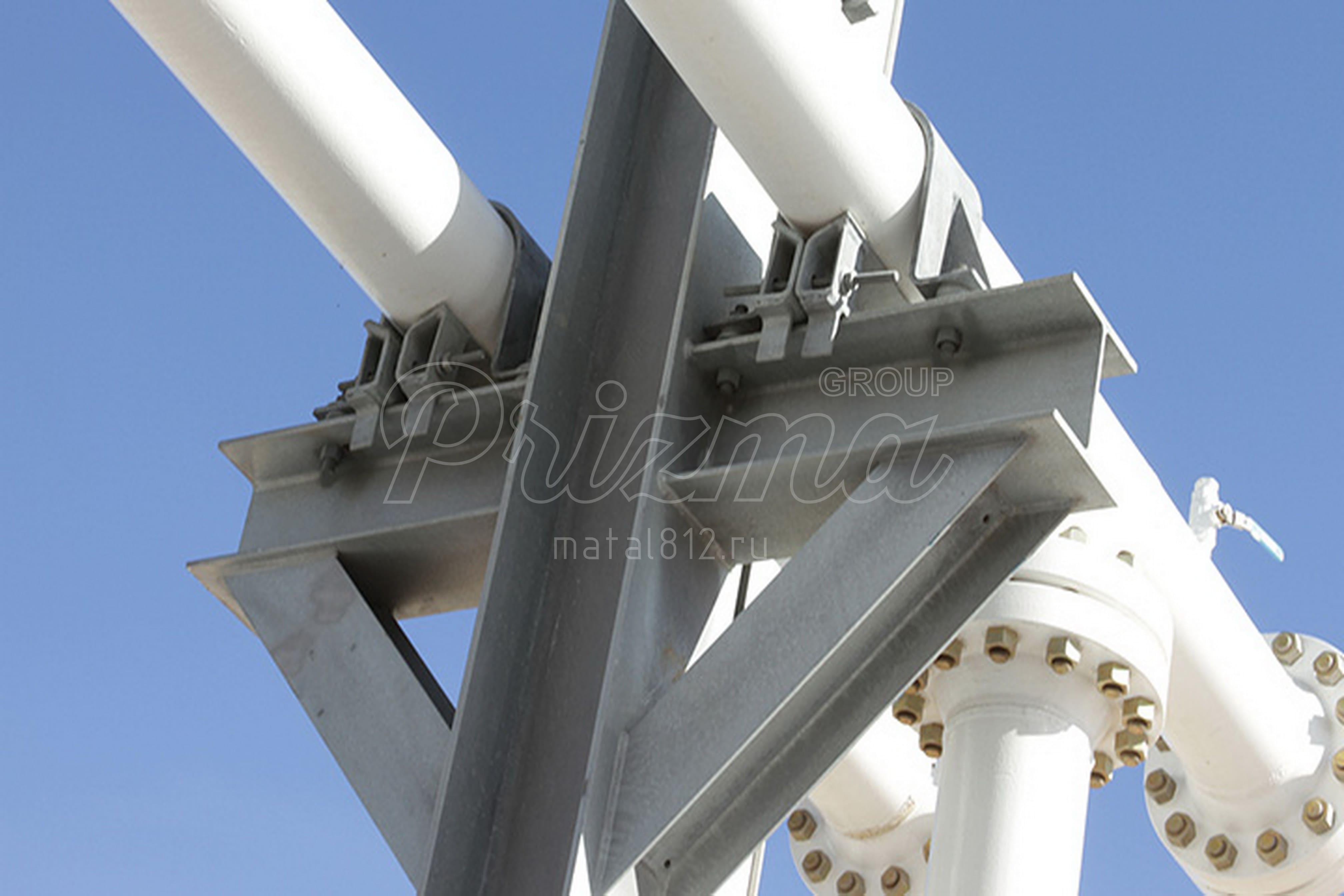 Цены на опоры для трубопроводов