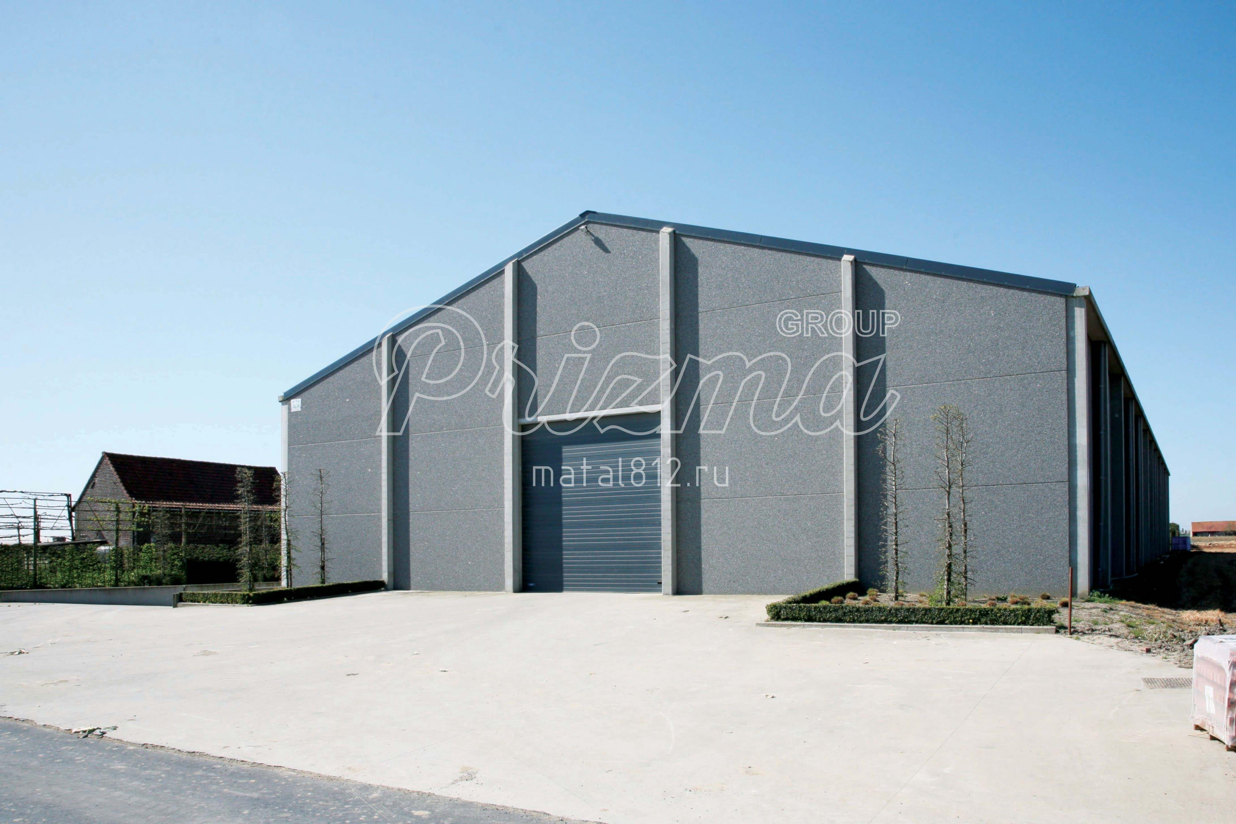 Монтаж сельско-хозяйственных зданий
