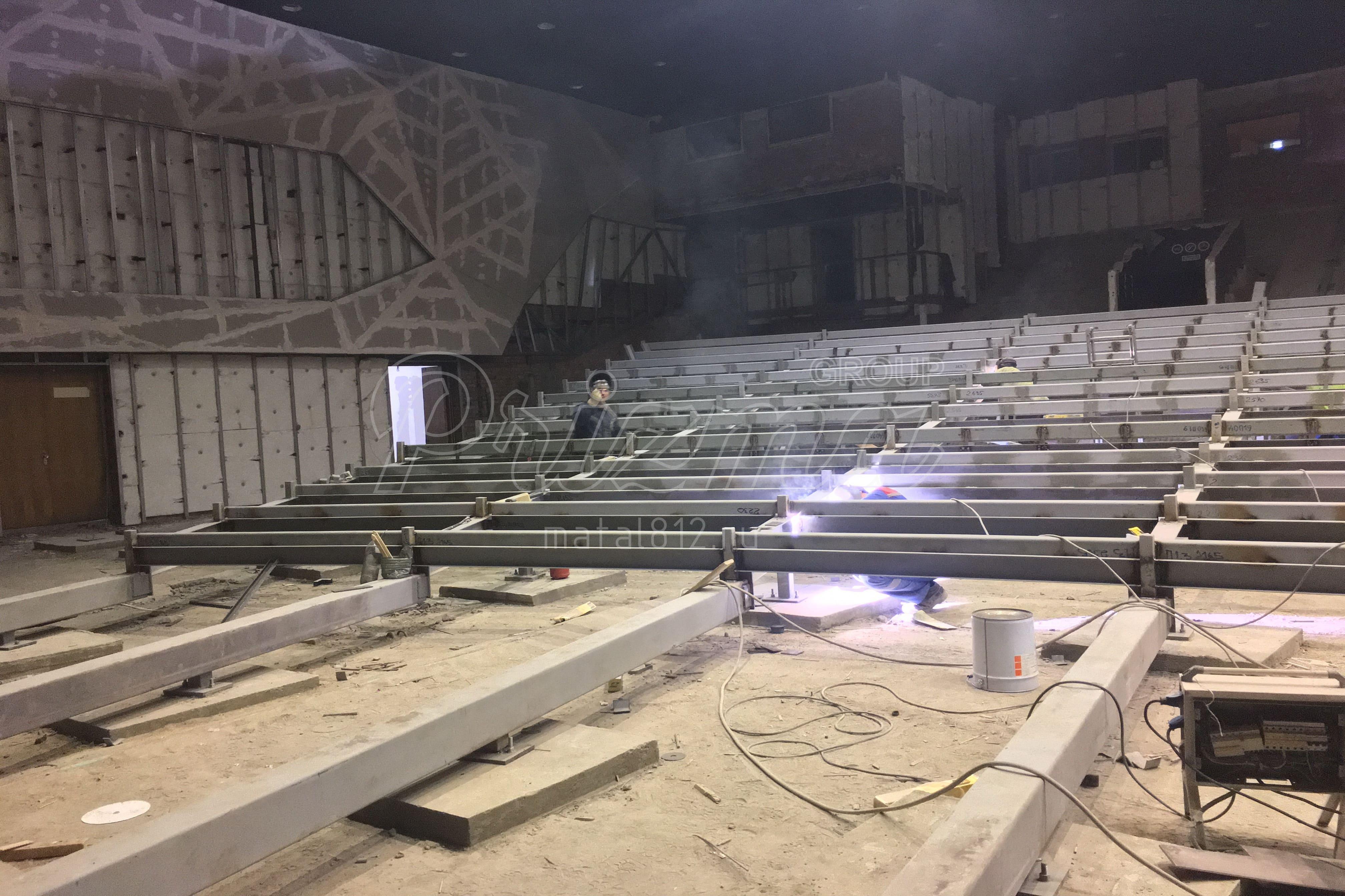 конструкции театров