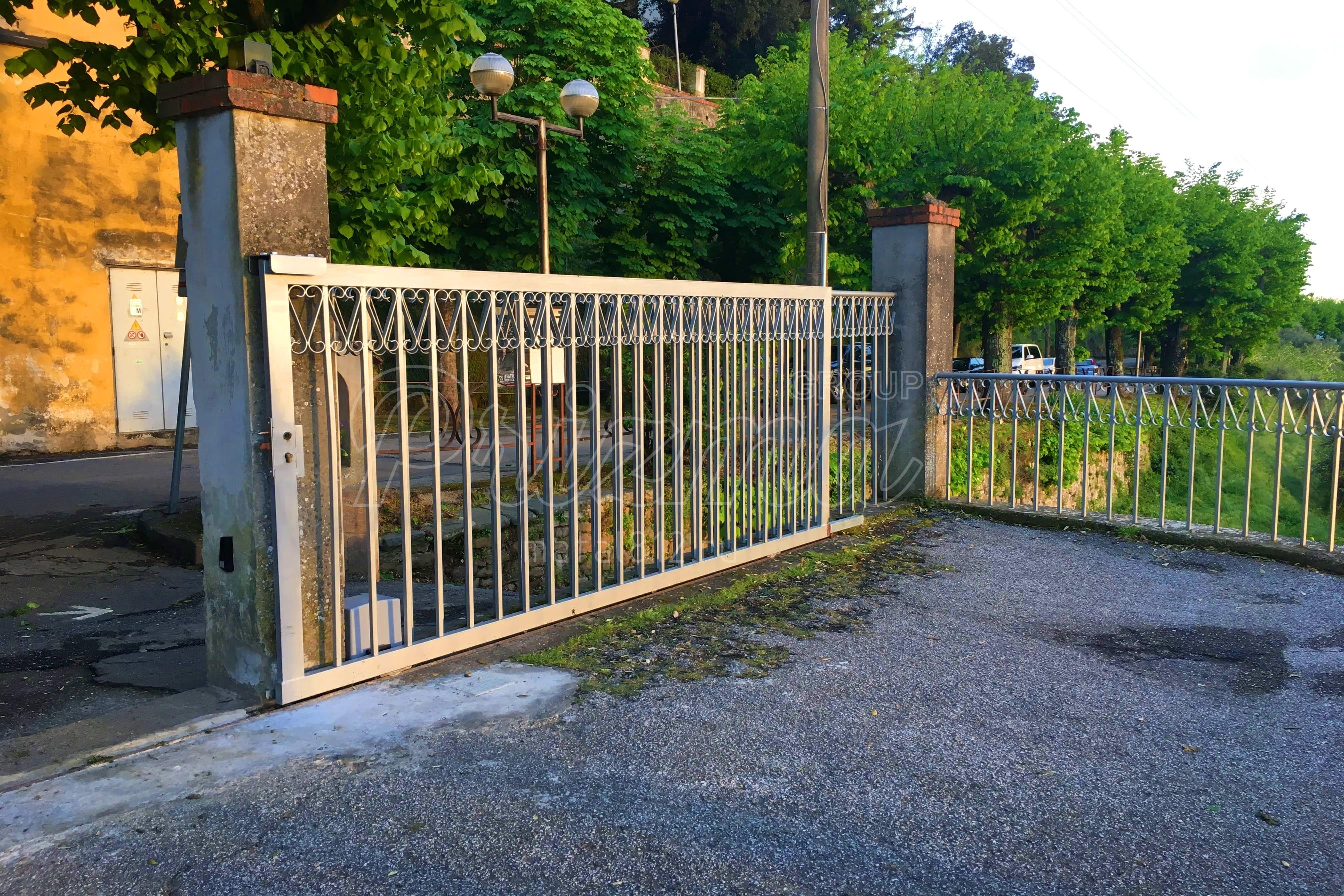Проектирование ворот металлических - откатных