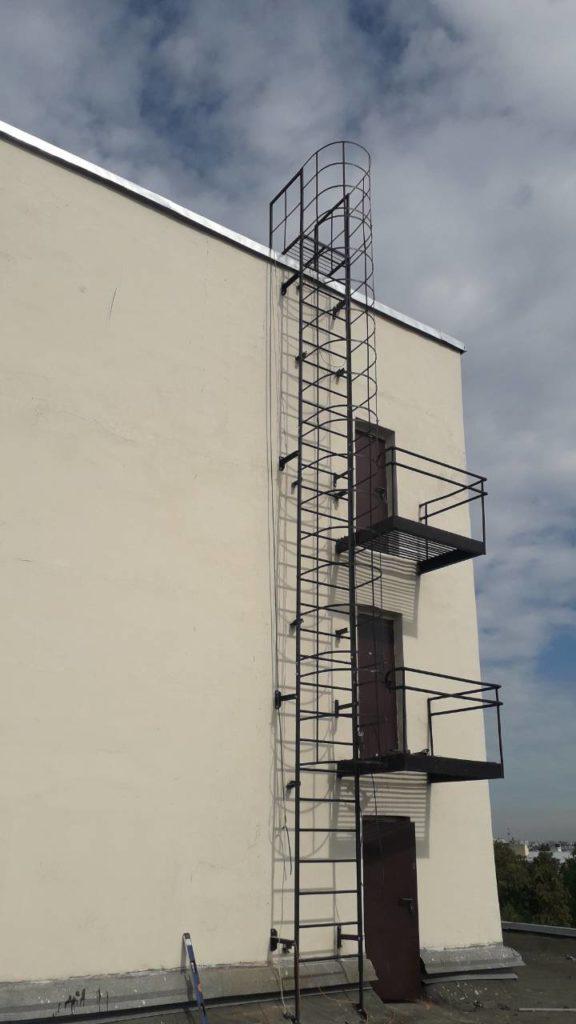 Пожарная лестница П1-2 для ТЮЗ